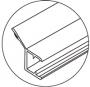 Perfil de policarbonato para cancel de baño